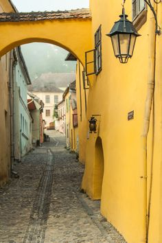 """livias: """"Sighisoara, Romania (Dracula's birth house) """" Wonderful Places, Great Places, Beautiful Places, Romanian Castles, Places Around The World, Around The Worlds, Places To Travel, Places To Visit, Travel 2017"""