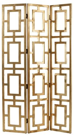Art Deco Gold Screen from Inside Avenue