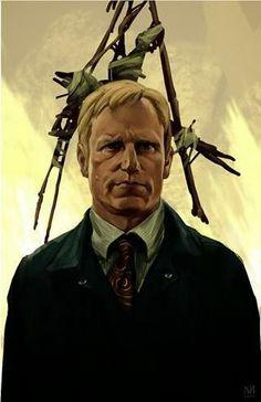 Cool Art: 'True Detective: Marty' by Nagy Norbert