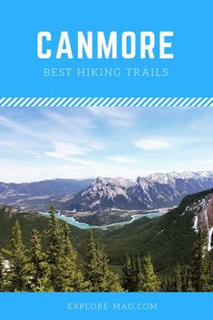 Don't miss these amazing hikes near Canmore, AB Travel Sights, Places To Travel, Places To Visit, Travel Destinations, Travel Tips, Canadian Travel, Canadian Rockies, Banff Canada, Alberta Canada