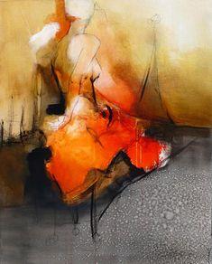 """Découvrir le réel,  Acrylic on canvas,  30"""" X 24"""",  Artist: Virginie Bocaert"""
