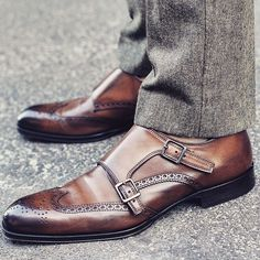 Could not possibly be more in love with a pair of shoes! It's like a pair of brogues and double monks had a secret love affair with chocolate and this happened!! The craftsmanship on these @ToBootNewYork shoes are next level!