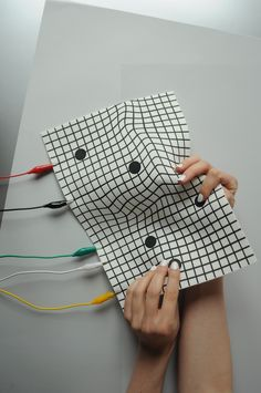 Liquid MIDI is an experimental textile interface for sonic interactions…