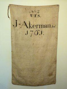 Fire bag....ca. 1761