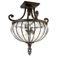 Palencia Semi-Flush Mount Light - Palencia Ceiling Light