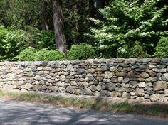 Fieldstone Wall Fieldstone stone wall