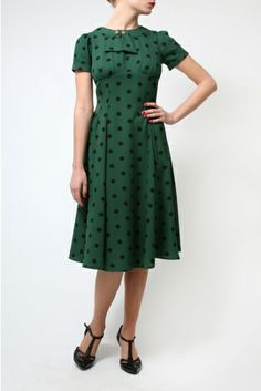 The Green Madden Dress <3