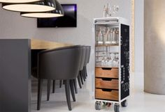 Airline trolley for kitchen