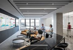 Manhattan offices by A+I offer range of working spaces for collaboration