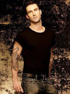 Adam Levine Photo) Hot Sexy Maroon 5 Singer & The Voice Judge Maroon 5, Adam Noah Levine, Beautiful Men, Beautiful People, Amazing People, Beautiful Celebrities, Pretty People, The Voice, Johny Depp