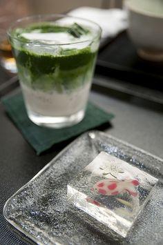Japanese food WAGASHI