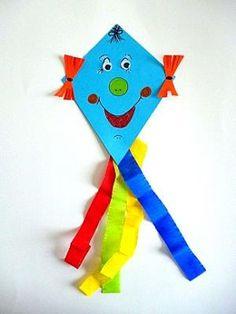 Bastelideen basteln papierarbeiten drachen alle for Drachen basteln im kindergarten