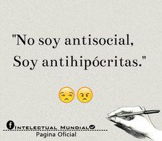 Soy antihipocritas