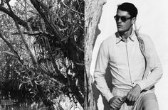 Tyson Ballou  spring 2012 edition of L'Officiel Hommes Italia, photographed by Pablo Arroyo.