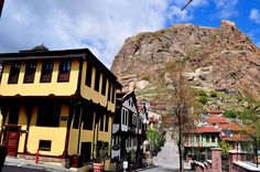 Afyonkarahisar'ın geleneksel evleri.... Fotoğraf: Selim Çakır