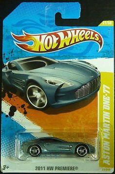 2011 Hot Wheels Aston Martin One-77 Grey #31/244 by Mattel. $9.99. 1:64. 2011 New Models Series, #31/50. Aston Martin One-77 Hotwheels new models 2011.