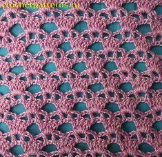 Watch This Video Beauteous Finished Make Crochet Look Like Knitting (the Waistcoat Stitch) Ideas. Amazing Make Crochet Look Like Knitting (the Waistcoat Stitch) Ideas. Crochet Shell Pattern, Crochet Motifs, Crochet Blocks, Crochet Stitches Patterns, Crochet Shawl, Stitch Patterns, Knitting Patterns, Hexagon Crochet, Hat Patterns