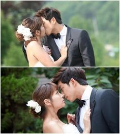 [Spoilers] Gong Yoo and Lee Min Jung have their first kiss on KBS' 'Big'