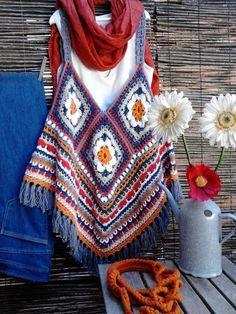 Feito à mão em crochet em fio de algodão (100% português)  € 45,00