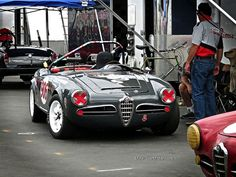 Laguna Seca Alfa Romeo Spyder by Mind Over Motor, via Flickr