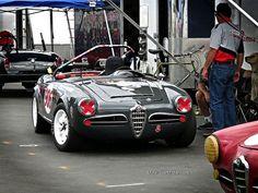 Laguna Seca Alfa Romeo Spyder by Mind Over Motor, via Flickr