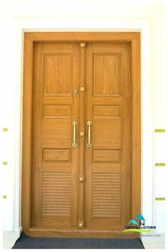 Kerala Style Carpenter Works And Designs: Kerala Style . Kerala Style Carpenter Works And Designs: Main Entrance . Home and Family Single Front Door Designs, Single Door Design, Wooden Front Door Design, Double Door Design, Modern Front Door, House Main Door Design, Home Door Design, House Front Door, House Design