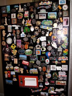My fridge magnet collection   #wwg #souvenirs http://www.world-wide-gifts.com/
