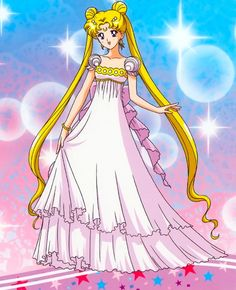 princess serenity dress anime - Google Search