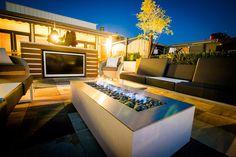 futuristic patios -