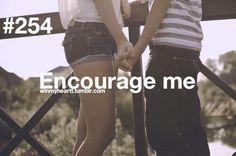 Win My Heart #254 Encourage me