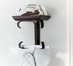 Shop ironing board hanger from Pottery Barn. Our furniture, home decor and accessories collections feature ironing board hanger in quality materials and classic styles.
