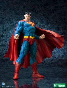 KOTOBUKIYA SUPERMAN FOR TOMORROW ARTFX STATUE FINAL PRODUCTION PHOTOS UNVEILED
