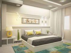 Raffrollo schlafzimmer ~ Schlafzimmer einrichten helles interieur raffrollos schlafzimmer