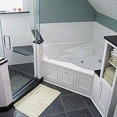 angle of bath shower
