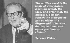 ... quotes of terence fisher terence fisher photos terence fisher quotes
