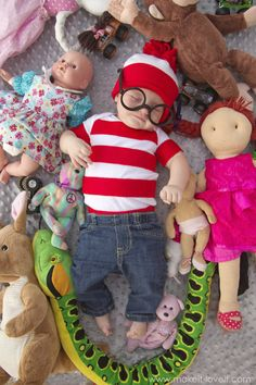Where's Waldo: http://www.stylemepretty.com/living/2015/10/15/adorable-diy-baby-costumes/
