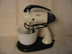 """I restore the vintage Sunbeam Mixmasters, the models from 1936 to  1967. These are the ones before the infamous """"Plastic Master Throw  Away Models.""""    If anyone here would like to see some pics of these Sunbeams email  me at jdayton@rgv.rr.com."""