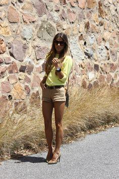 yellow & beige