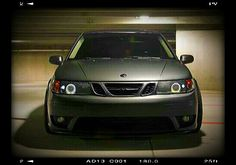 '05 Saab 9-3 Hirsch Edition With Aftermarket HID Angel Eye Headlamps