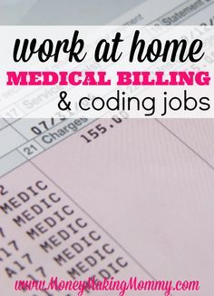 Jobs In The Medical Field You Can Do From Home  Medical Coding