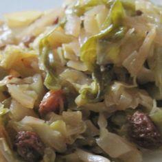 Yum! I'd Pinch That | Drunken Cabbage #recipe