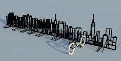 bike rack art | Bike rack by SoundsxOfxLife: