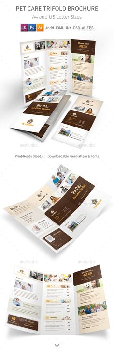 Cake shop tri fold brochure template will be a good choice for - free blank tri fold brochure templates