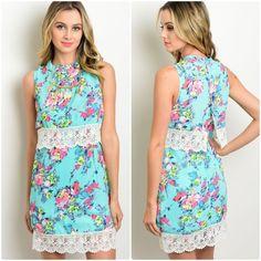 Blossom & Lace Dress