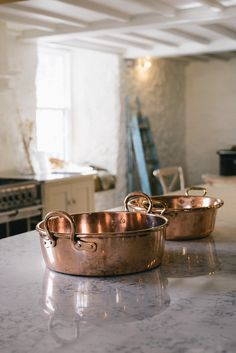 the prettiest copper pans