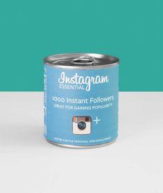 Les réseaux sociaux imaginés en produits de supermarché