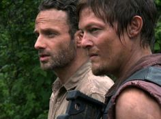 Rick Grimes and Daryl Dixon from The Walking Dead