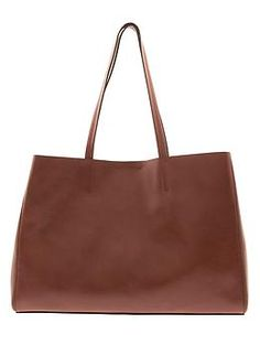 rich brown leather tote http://rstyle.me/n/npenmr9te