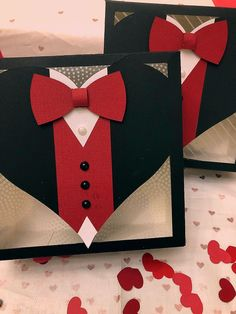 Tuxedo card - My site Masculine Birthday Cards, Birthday Cards For Men, Handmade Birthday Cards, Masculine Cards, Fathers Day Cards, Valentine Day Cards, Tuxedo Card, Love Cards, Creative Cards