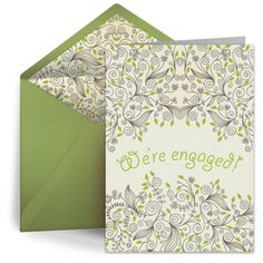 Engagement Floral Pattern from Punchbowl
